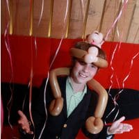 Balloon Monkey Hat